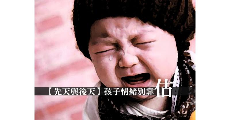 【先天與後天】孩子情緒別靠估 - 李啟剛