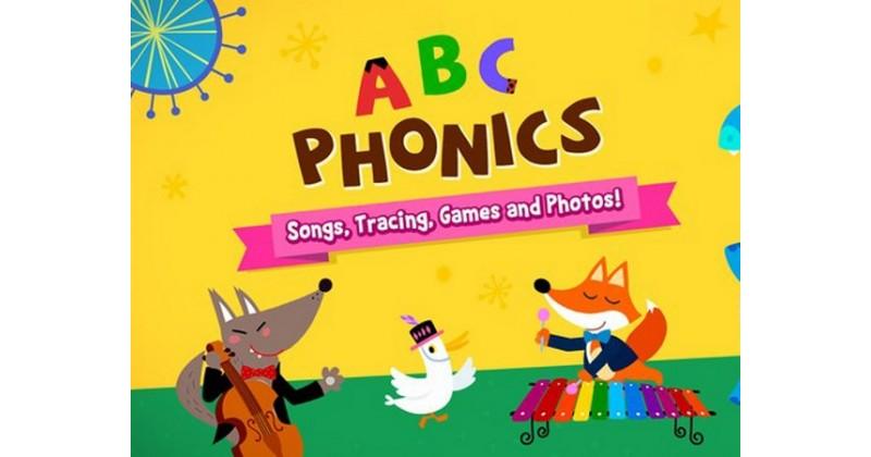 【幼童益智App】ABC Phonics聽歌兼認字