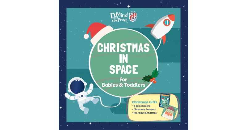 【D Mind & the Prince】「Christmas in Space」邊玩聖誕攤位遊戲 邊學英文