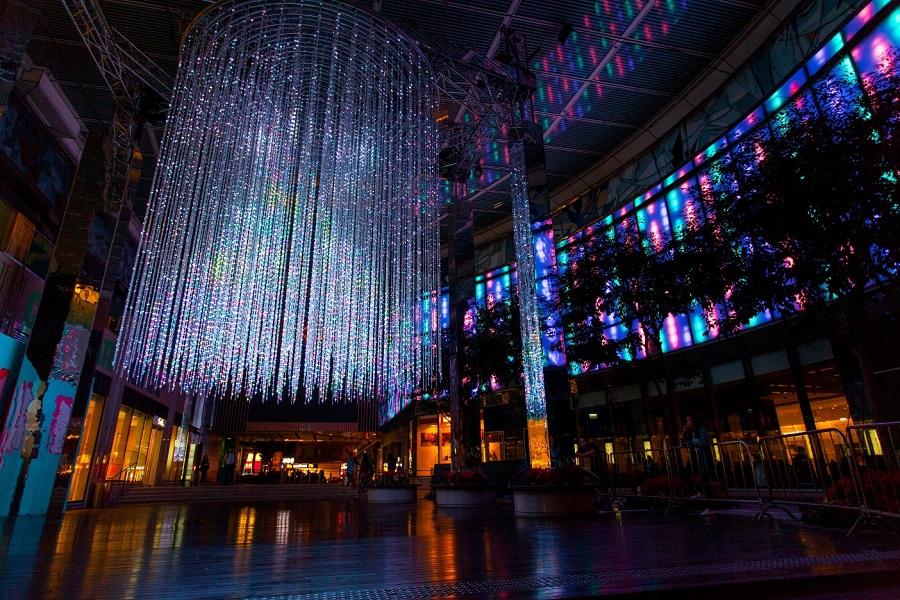 【環保聖誕】K11互動聖誕樹登場 響應國際光之年